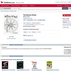 The Bicycle Wheel by Brandt, Jobst: Avocet 9780960723669 Hardcover - Green Earth Books