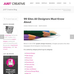 99 Graphic Design Resources