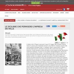 LE SICILIANE CHE PERMISERO LâIMPRESA DEI MILLE