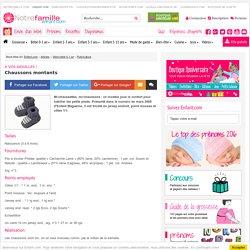 A vos aiguilles !: Chaussons montants - Enfant.com