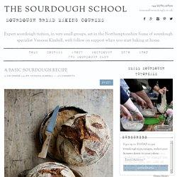 A Basic Sourdough Recipe