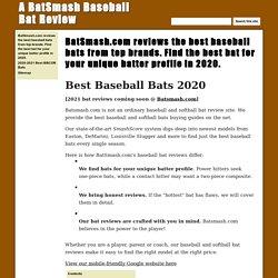 A BatSmash Baseball Bat Review