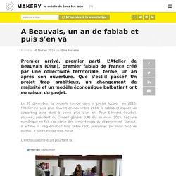 A Beauvais, un an de fablab et puis s'en va