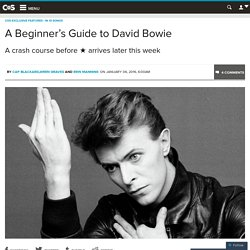 A Beginner's Guide to David Bowie