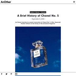 A Brief History of Chanel No. 5