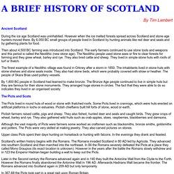 A Brief History of Scotland