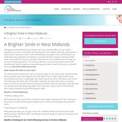 A Brighter Smile in West Midlands