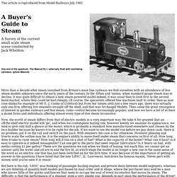 A Buyer's Guide to Steam - Page 1 of 5