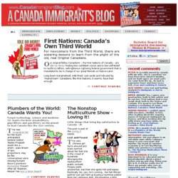 A Canada Immigrant's Blog