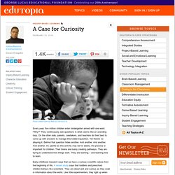A Case for Curiosity