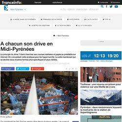 FRANCE 3 MIDI PYRENEES 07/12/13 A chacun son drive en Midi-Pyrénées.