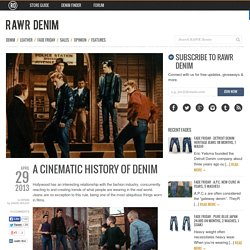 A Cinematic History of Denim
