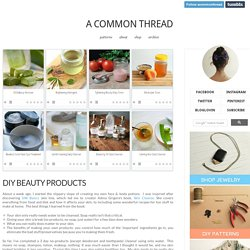 a common thread blog
