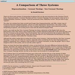 A Comparison of Three Systems