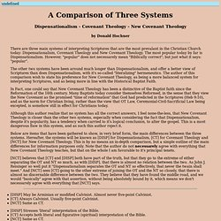 A Comparison of Three Systems