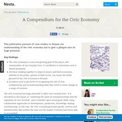 A Compendium for the Civic Economy