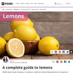 A complete guide to lemons