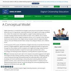 Conseil de l'europe : citoyenneté numérique est un concept