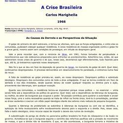 A Crise Brasileira
