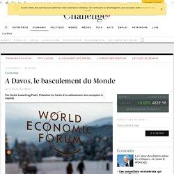 A Davos, le basculement du Monde