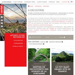A découvrir - CDT Cantal