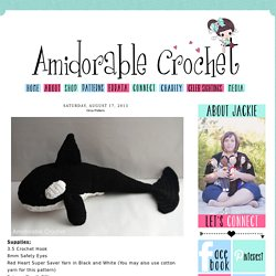 A[mi]dorable Crochet: Orca Pattern