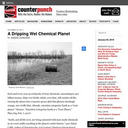 A Dripping Wet Chemical Planet