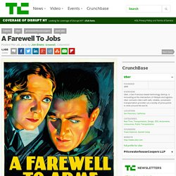 A Farewell To Jobs
