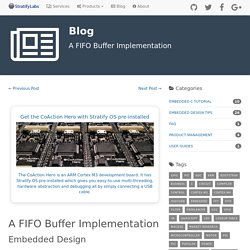 A FIFO Buffer Implementation