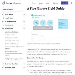 (Jennifer Porter) A Five Minute Field Guide