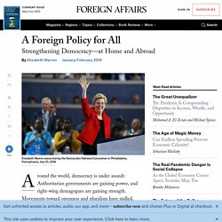 A Foreign Policy for All