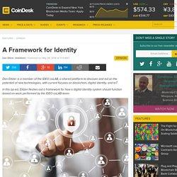 A Framework for Identity