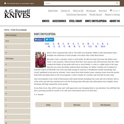 A.G.'s Knife Encyclopedia