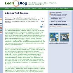 gemba walk form