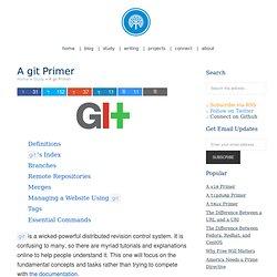 A Git Primer