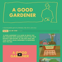 A Good Gardener by turnfollow
