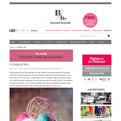 A Gripping Yarn - Beyond Beyond | Beyond Beyond ™ – UK Wedding Blog // International Wedding Blog //