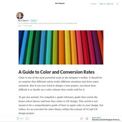 A Guide to Color and Conversion Rates