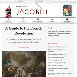 A Guide to the French Revolution