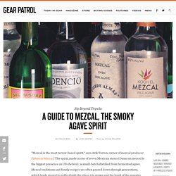 A Guide to Mezcal