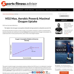 A Guide to VO2 Max