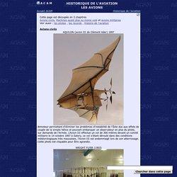 ¤ A C A M ¤ Histoire de l'aviation - Les Avions