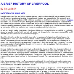 A brief history of Liverpool