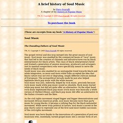 A History of Soul Music