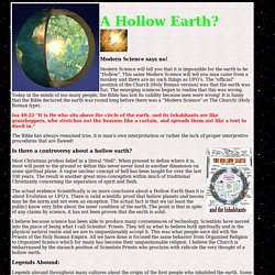 A Hollow Earth
