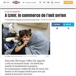 A Izmir, le commerce de l'exil syrien