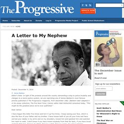 James Baldwin - A Letter to My Nephew
