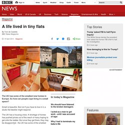 A life lived in tiny flats