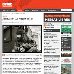 A Lille, les ex-SDF relogent les SDF