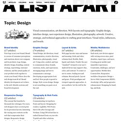 A List Apart: Topics: Design: Typography